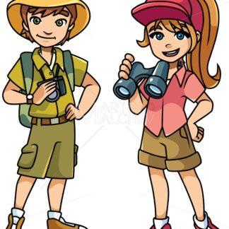 Adventure Kids Illustration - Martin Malchev