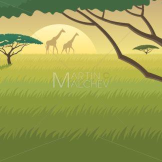 Africa Landscape - Martin Malchev