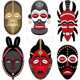African Masks 2 - Martin Malchev