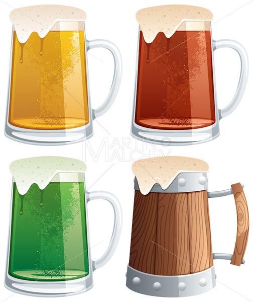Beer Mugs - Martin Malchev