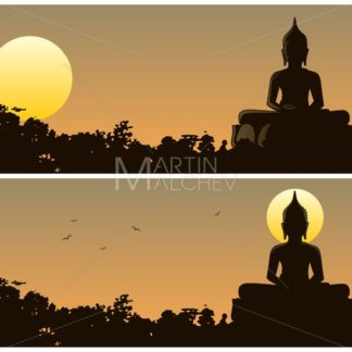 Buddha Sunset - Martin Malchev