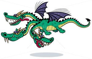 Cartoon Dragon - Martin Malchev