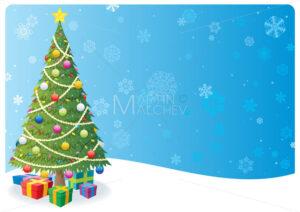 Christmas Tree Background 1 - Martin Malchev