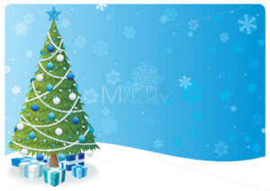 Christmas Tree Background 2 - Martin Malchev