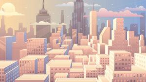 Cityscape Sunrise - Martin Malchev