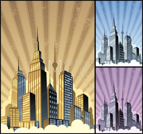 Cityscape Vertical - Martin Malchev