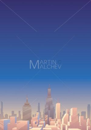 Cityscape Vertical 3 - Martin Malchev