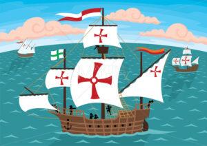 Columbus Ships - Martin Malchev