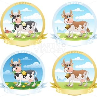 Dairy Products Labels - Martin Malchev
