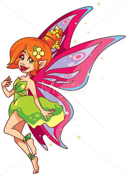 Fairy on White - Martin Malchev