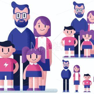 Family Flat Design - Martin Malchev