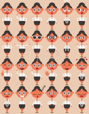 Female Character Emotions - Martin Malchev