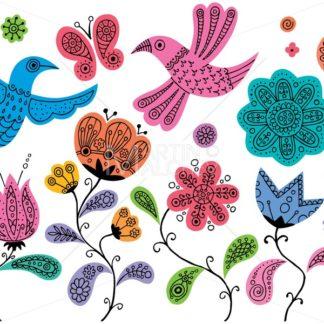 Floral Doodles - Martin Malchev