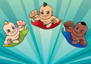 Flying Babies Background - Martin Malchev