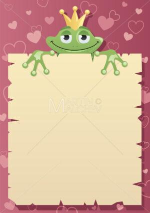 Frog Prince Letter - Martin Malchev
