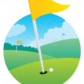 Golf Flag - Martin Malchev