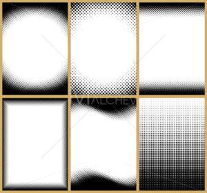 Halftone Frames - Martin Malchev