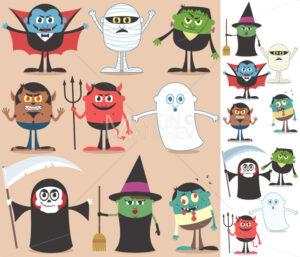 Halloween Characters - Martin Malchev