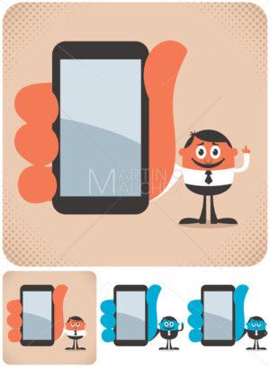 Holding Smartphone - Martin Malchev