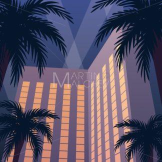 Hotel Casino Resort Night - Martin Malchev
