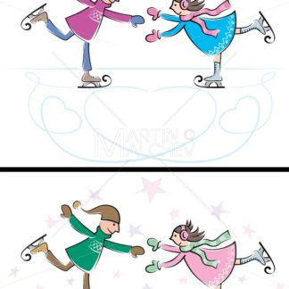 Ice Skating Couple - Martin Malchev