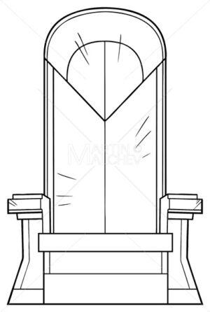 Iron Throne Line Art - Martin Malchev