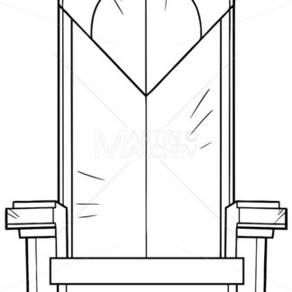 Iron Throne Line Art - Martin Malchev