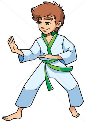 Karate Stance Boy - Martin Malchev