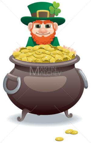 Leprechaun and Pot of Gold - Martin Malchev