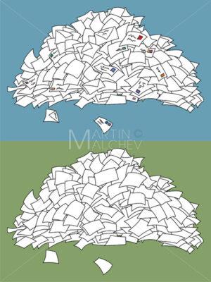 Letter Pile - Martin Malchev
