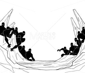 Minions Line Art - Martin Malchev