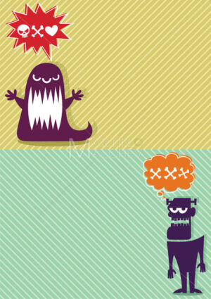 Monster Backgrounds 3 - Martin Malchev