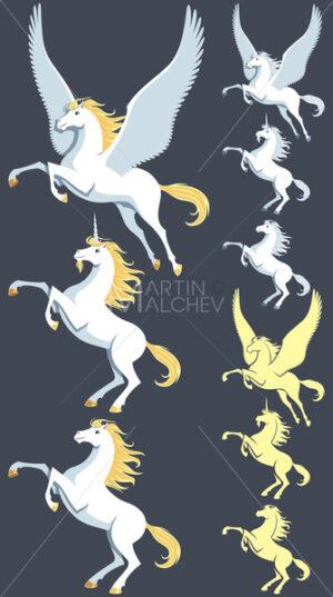 Pegasus Unicorn Stallion - Martin Malchev