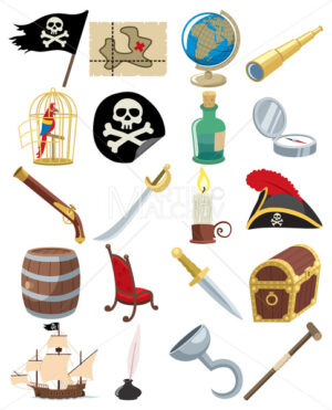 Pirate Icons - Martin Malchev