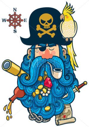 Pirate Portrait - Martin Malchev