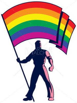 Pride Flag Bearer - Martin Malchev