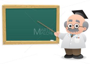 Professor & Blackboard - Martin Malchev
