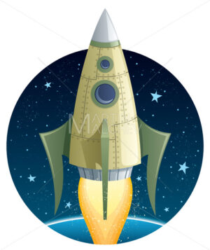 Rocket in Space - Martin Malchev
