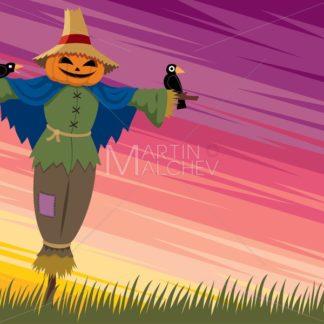 Scarecrow Background 2 - Martin Malchev