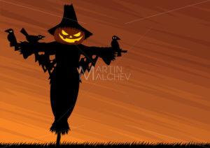 Scarecrow Background - Martin Malchev