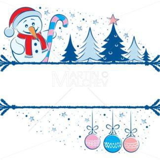 Snowman Frame - Martin Malchev