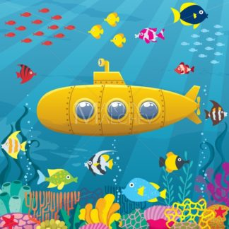 Submarine Background - Martin Malchev