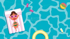 Summer Pool Girl - Martin Malchev