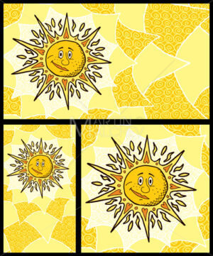 Sun Backgrounds - Martin Malchev