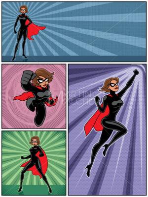 Super Heroine Banners 4 - Martin Malchev