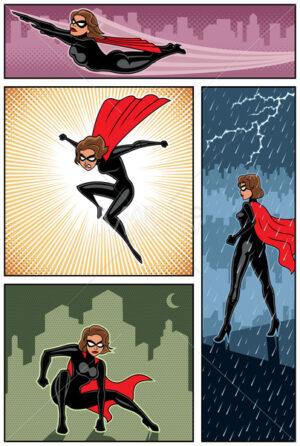 Super Heroine Banners 6 - Martin Malchev