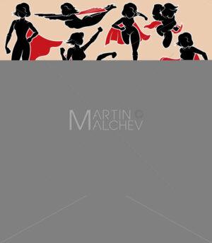 Super Heroine in Action - Martin Malchev