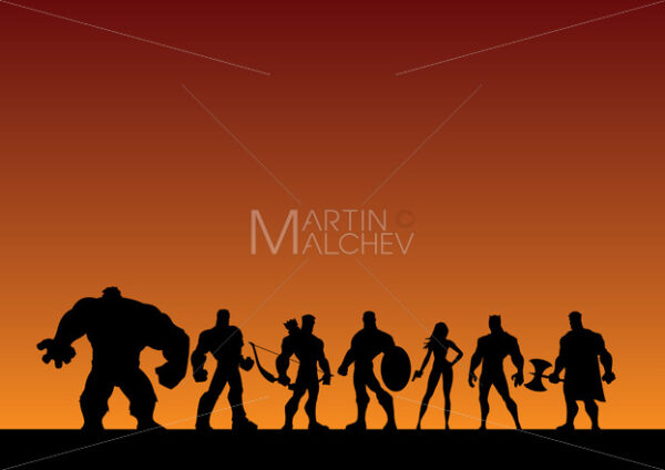 Super Team Background - Martin Malchev