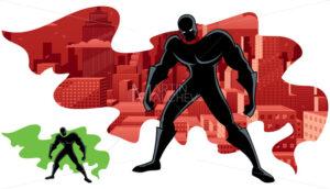 Superhero Abstract 2 - Martin Malchev