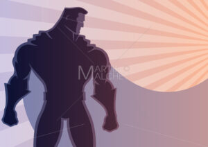 Superhero Background 2 - Martin Malchev